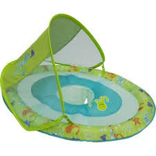 Baby Spring Float Swim Steps 1